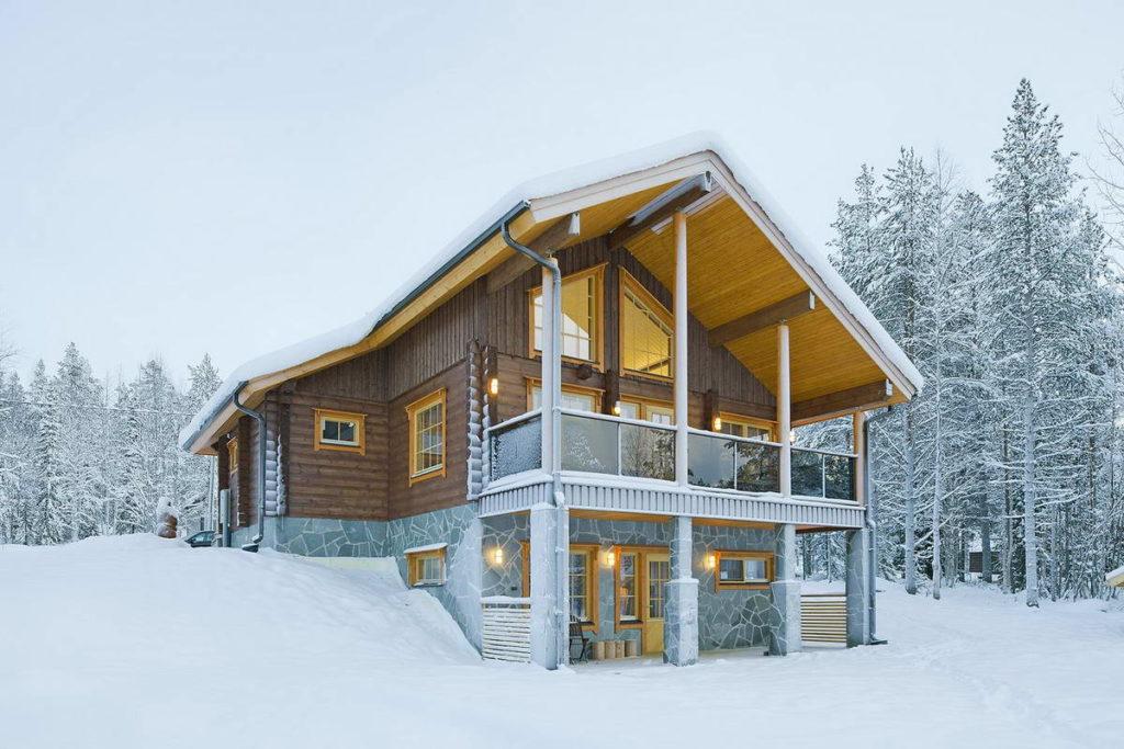 Уютный дом даже зимой   Евростандарт